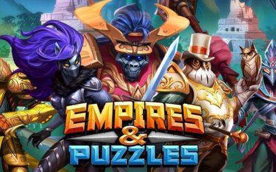 Empires and Puzzles Hack: Kostenlose Juwelen und Eisen.