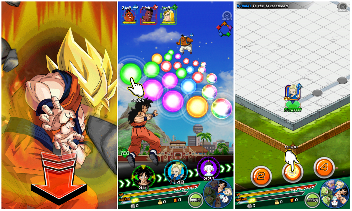 dragon ball z dokkan battle deutschland